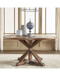 60 Inch Round Dining Room Tables by Great Deals On Signal Hills Benchwright Rustic X Base 60 Inch