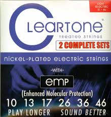 Light Guitar Strings by Emp Coated Electric Light Guitar Strings 2 Pack