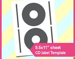 cd label template etsy