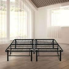 box spring platform metal bed frame foundation king u2013 euro screens