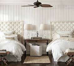 Guest Bedrooms With Captivating Twin Bed Designs - White bedroom furniture london ontario