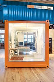 interior of shipping container homes two shipping containers placed inside home enpundit