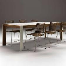 Walnut Extending Table - Corian kitchen table