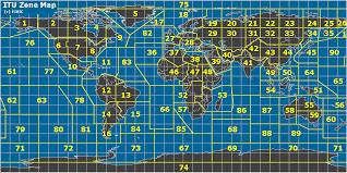 map zones radio itu zones of the map