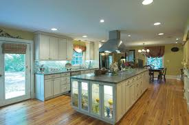 how to make a beautiful lighting on the wall kitchen cabinets modern spacious kitchen design with lovely island cabinet