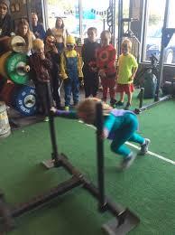 a strongkids halloween 2viking performance training