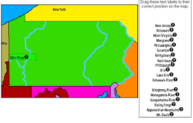 map of maryland delaware and new jersey pennsylvania for maps activities history facts