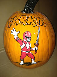 this is a cute idea we could paint one and carve one red power