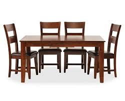Kitchen  Dining Furniture Furniture Row - Wood dining room chairs