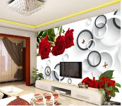 custom any size fashion rose 3d ring tv wall mural 3d wallpaper 3d custom any size fashion rose 3d ring tv wall mural 3d wallpaper 3d wall papers for