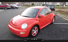 pink punch buggy car 2002 volkswagen beetle turbo snap orange limited edition start up
