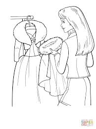 stunning design ideas fashion coloring pages barbie pages barbie
