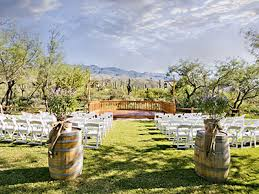 wedding venues in tucson az tanque verde ranch weddings tucson wedding here comes the guide