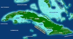 Cuban Map Cuba U0027s Unique Marine Resources Waitt Foundationwaitt Foundation