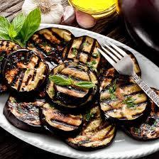 recette aubergines grillées