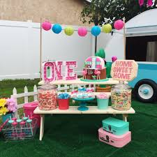 Retro Camper Kitschy Camper Trailer Birthday Party Project Nursery