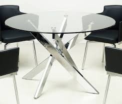 4 Seater Glass Dining Table Sets Compact Dining Table Modern Folding Table Foldable Furniture For