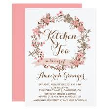 kitchen tea invitation ideas kitchen tea invitations announcements zazzle au