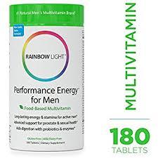 men s amazon com rainbow light men s one multivitamin 150 tablets