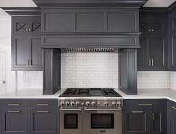 gray kitchen cabinets with white trim new kitchen trend cabinets subway tile shiplap