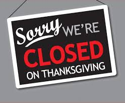 pub closed flyer for web thanksgiving lulu