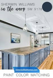 best navy blue paint color for kitchen cabinets sherwin williams paint color matching in the navy