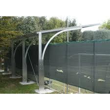 tettoia autoportante in ferro a sbalzo ts 600x550 in ferro zincata e verniciata con