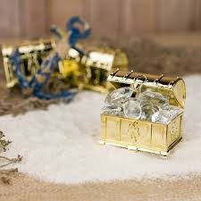 Treasure Chest Favors by Gold Treasure Chest Wedding Favor Box Container 12 Pack On Sale