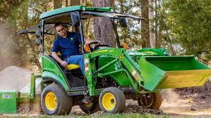 sub compact utility tractors 1025r john deere us