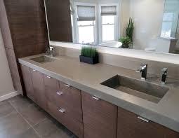 designer bathroom sinks contemporary bathroom concrete bathroom sink trueform decor