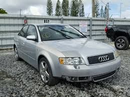 2004 audi station wagon salvage audi a4 for sale at copart auto auction autobidmaster