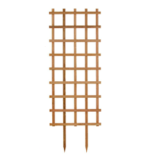 30 in w x 84 in h cedar rectangle trellis 30084 the home depot