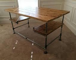 Steel Pipe Desk Best 25 Pipe Desk Ideas On Pinterest Industrial Pipe Desk
