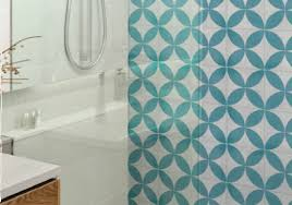 turquoise tile bathroom update your kitchen or bathroom with patterned tiles tile