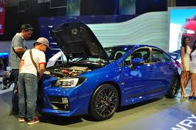 subaru philippines interesting stuff from the manila international auto show