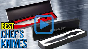 Kitchen Knives Wiki Top 10 Chef U0027s Knives Of 2017 Video Review