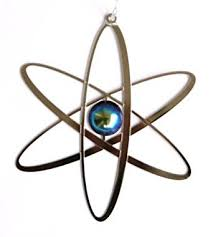 atom ornament industrial scientific