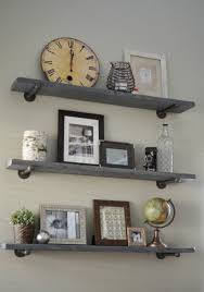 bedroom diy floating shelf rustic floating shelves floating