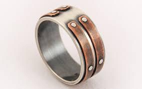 just men rings silver copper unique men ring men s engagement