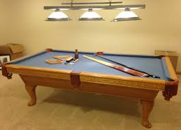 refelting a pool table 8 kasson genuine 3 piece slate pool table sold sold used pool