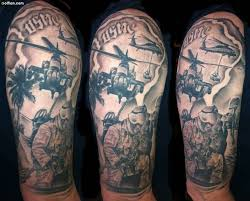 45 awesome army infantry tattoo art u2013 best army gun tattoo design