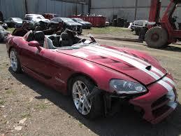 Dodge Viper 2006 - right coupe quarter panel body structure venom red dodge viper