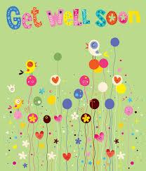 get well soon kid get well soon card stock vector illustration of 68670399