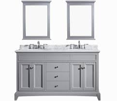 Eviva Elite Stamford  Gray Solid Wood Bathroom Vanity Set With - Solid wood bathroom vanity top