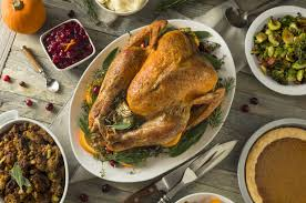 thanksgiving meal is worth several days of calories