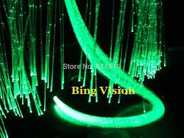 Fiber Optic Curtains Side Glow Sparkle Fiber Optic Light Strands 0 75mm 2700m Coil For