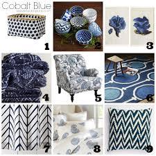 cobalt blue 2014 spring decorating trend refunk my junk cobalt blue