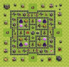 layout vila nivel 9 clash of clans layout de farm clash of clans nível da centro de vila 9 cv 9
