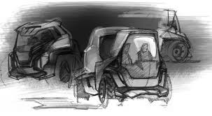concept truck sketch by zion wu at coroflot com