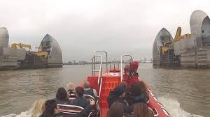 thames barrier rib voyage thames rocket break the barrier london rib voyages youtube